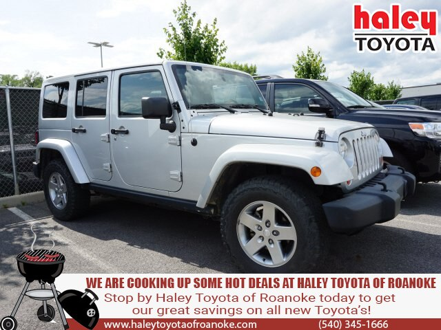 Pre-Owned 2012 Jeep Wrangler Unlimited Silver - Rubicon