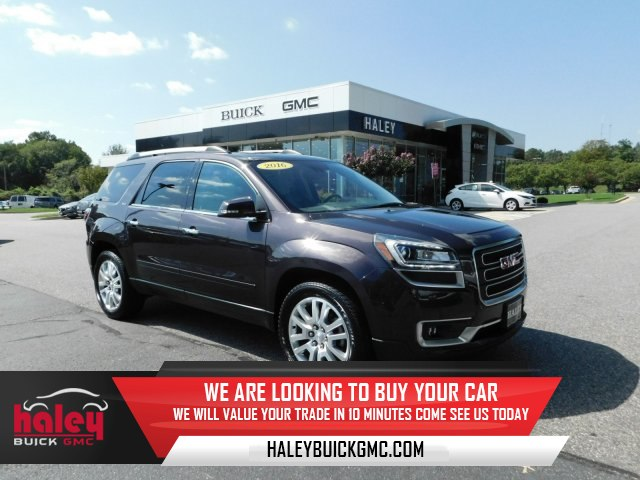 Pre Owned 2016 GMC Acadia SLT 1