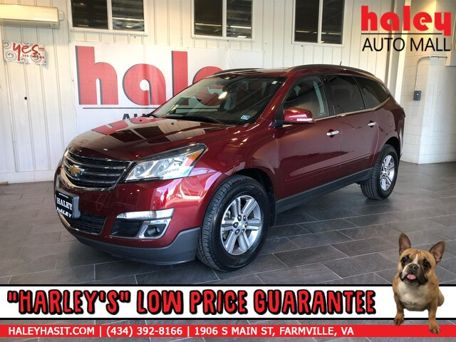 Pre-Owned 2016 Chevrolet Traverse LT w/1LT