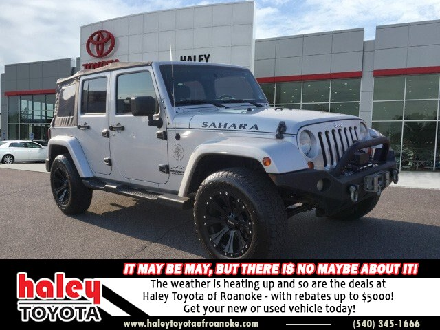 Pre-Owned 2007 Jeep Wrangler Silver - Unlimited Sahara