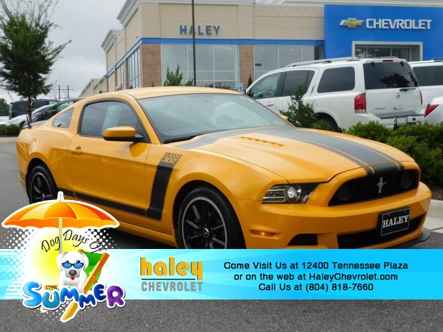 Pre Owned 2013 Ford Mustang Boss 302 Coupe In Roanoke 7243950a