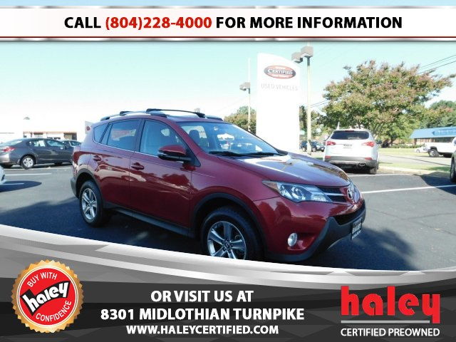 Beautiful Pre Owned 2015 Toyota RAV4 XLE
