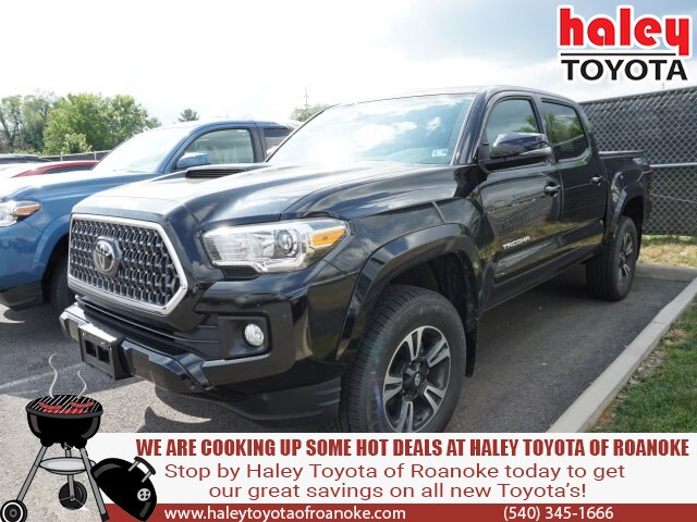 Certified Pre-Owned 2018 Toyota Tacoma Black - TRD Sport V6