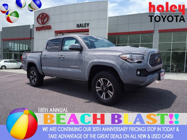 New 2019 Toyota Tacoma TRD Sport V6 4WD Double Cab