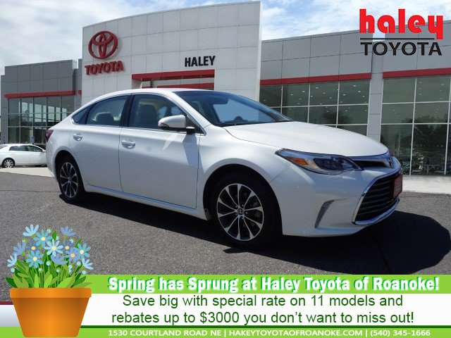Certified Pre Owned 2016 Toyota Avalon White Xle Premium