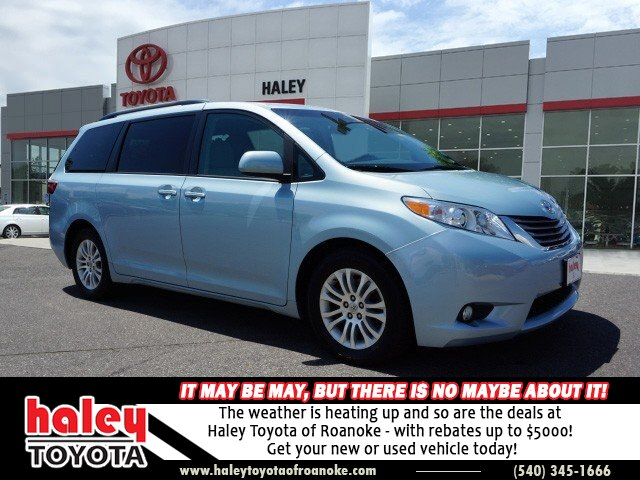 Pre Owned 2016 Toyota Sienna Sky Blue Le 8 Penger