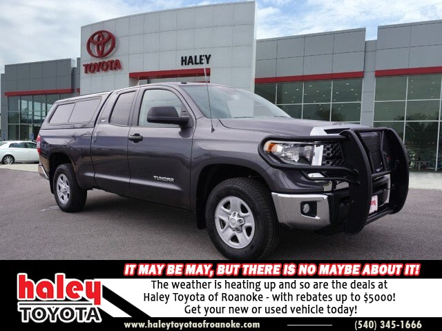Certified Pre-Owned 2018 Toyota Tundra Gray - SR5 4.6L V8 4X4 Double Cab