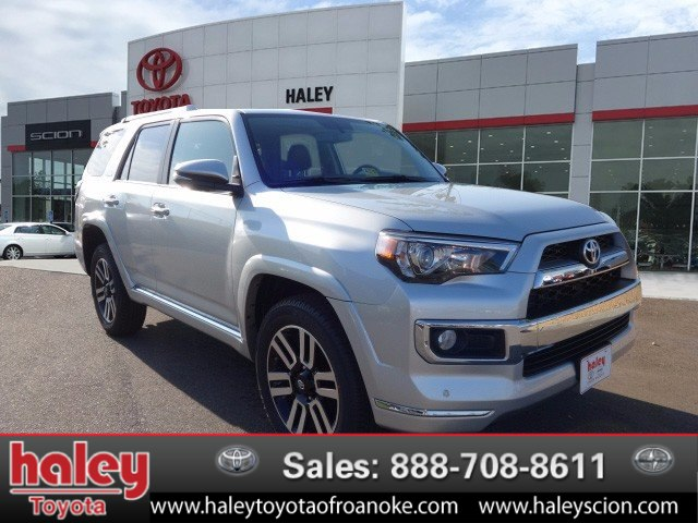 New Toyota Limited Suv In Roanoke Haley