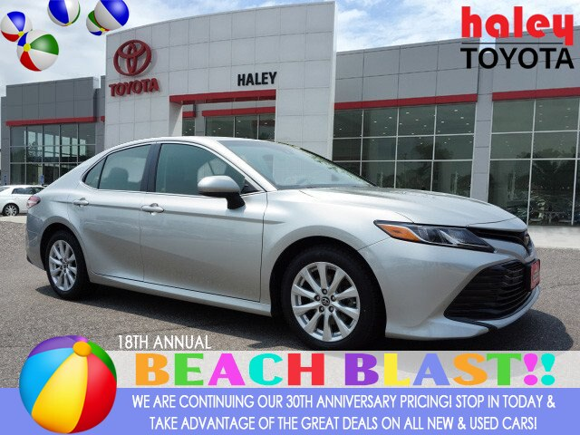 Certified Pre-Owned 2018 Toyota Camry Silver - LE