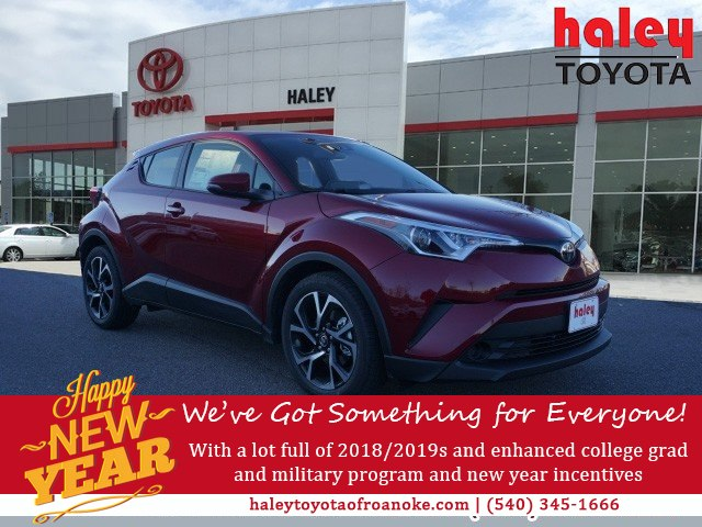 New 2019 Toyota C Hr Xle Suv In Roanoke R06076 Haley Toyota Of
