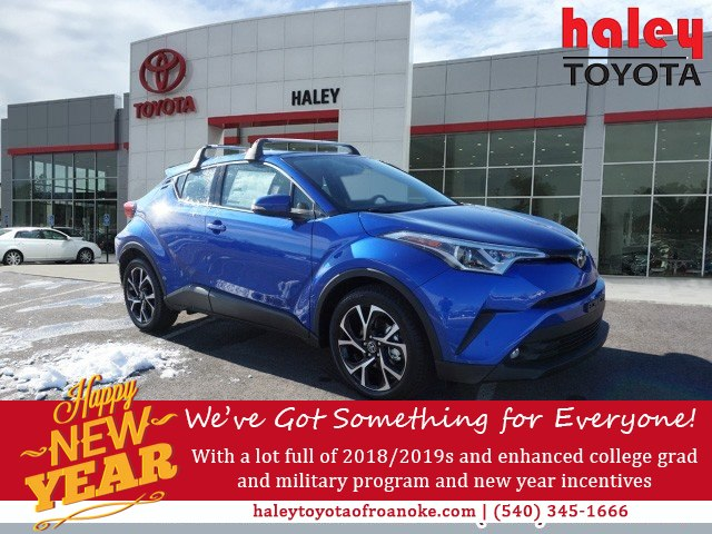 New 2019 Toyota C Hr Limited Suv In Roanoke 541420 Haley Toyota