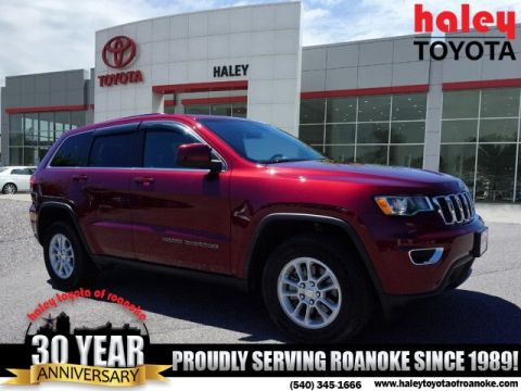 Pre-Owned 2018 Jeep Grand Cherokee Red - Laredo