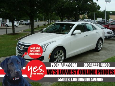 Pre-Owned 2016 Cadillac ATS White - 3.6L Luxury Collection