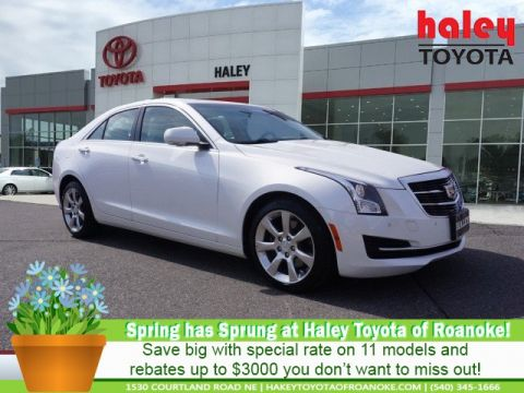 de0046d61f2989 Pre-Owned 2016 Cadillac ATS White - 3.6L Luxury Collection
