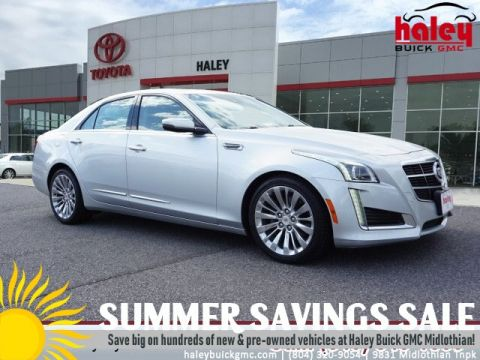 Pre-Owned 2014 Cadillac CTS Silver - 3.6L Luxury