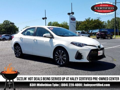 Certified Pre-Owned 2019 Toyota Corolla White - LE