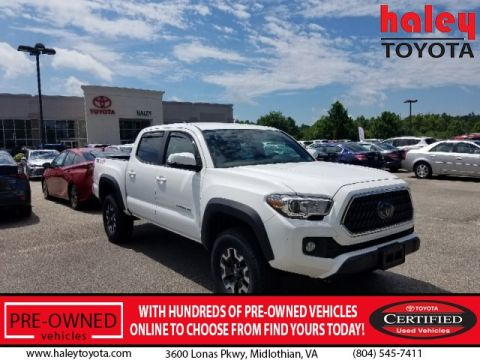 Certified Pre-Owned 2018 Toyota Tacoma TRD Off Road V6