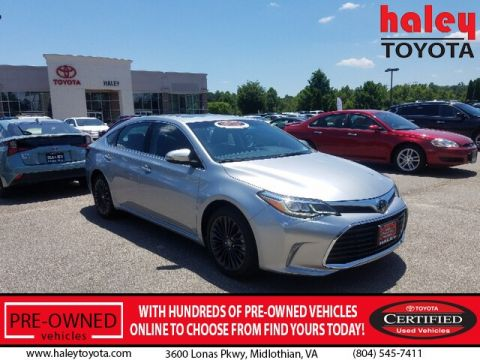 Certified Pre-Owned 2018 Toyota Avalon Touring