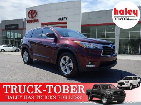 Pre Owned 2016 Toyota Highlander Hybrid Limited