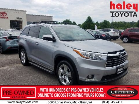 Certified Pre-Owned 2016 Toyota Highlander Limited V6