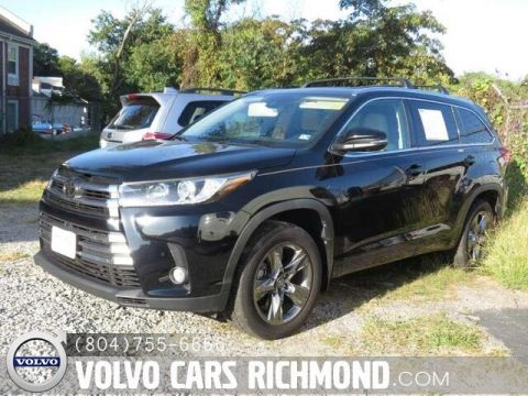 Pre-Owned 2017 Toyota Highlander Limited Platinum V6