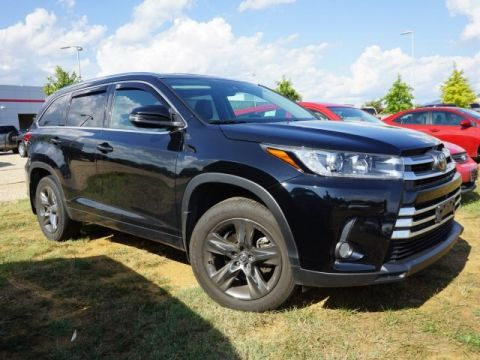 Certified Pre-Owned 2018 Toyota Highlander Limited Platinum V6