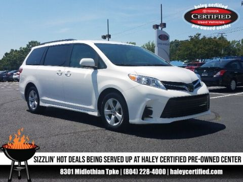 Certified Pre-Owned 2018 Toyota Sienna L 7 Passenger