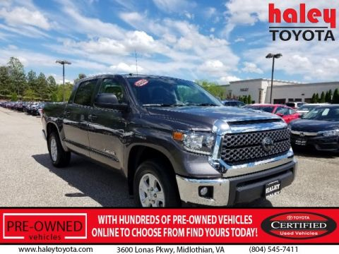 Certified Pre-Owned 2018 Toyota Tundra SR5 4.6L V8