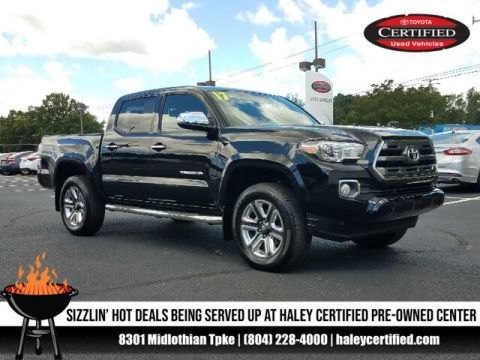 Certified Pre-Owned 2017 Toyota Tacoma Limited V6