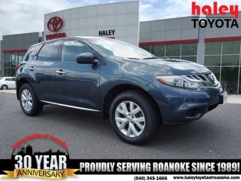 Pre-Owned 2014 Nissan Murano Blue - S