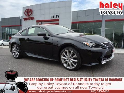 Pre-Owned 2016 Lexus RC 300 Black AWD